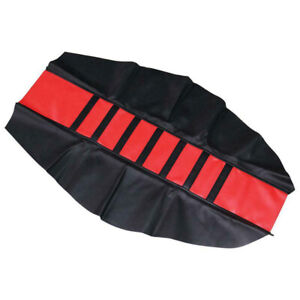 Universal Gripper Soft Seat Cover Rib Skin Rubber for Dirt Pit Bike Motorcycle