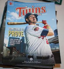 Minnesota Twins Program Magazine   May 2014   Chris Colabello