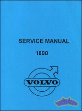 VOLVO P1800 SHOP MANUAL SERVICE REPAIR BOOK P 1800 WORKSHOP 1961 1968 1966 1967