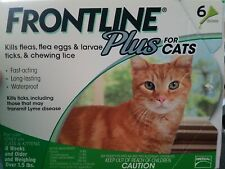 Frontline Plus for Cats 6 Month Flea and Tick Treatment