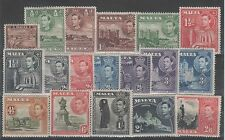 Colony George VI (1936-1952) Maltese Stamps