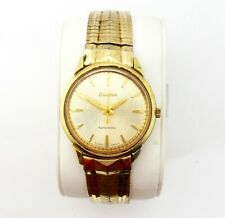 Vintage 1969 Bulova correr M9 Reloj para Hombres Pesado Oro Placa sweepsecond