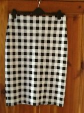 m&s check pencil skirt size 14