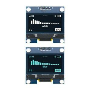 1,3 Zoll Arduino OLED 128x64 Display SH1106 I2C IIC TWI weiß blau Raspberry Pi
