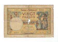 Madagascar - 20 Francs