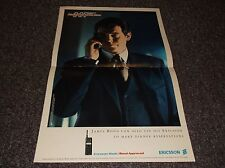 Pierce Brosnan James Bond Tomorrow Never Dies Ericsson phone ad 1997
