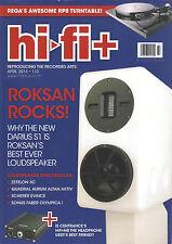 HI-FI + PLUS UK 110 April 2014 Rocksan Darius S1 Estelon XC Loudspeaker Rega RP8