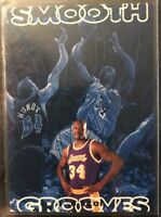 1996-97 UPPER DECK SMOOTH GROOVES #SG5 SHAQUILLE O'NEAL!! LAKERS!! NM-MT!!!