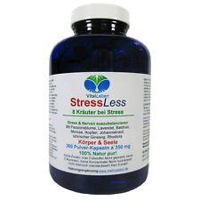 StressLess, 8 Kräuter bei Stress, 360 Pulver-Kapseln a 350mg, #25538