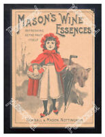 Historic Newball & Mason Wine Essence, 1890s. Advertising Postcard 3