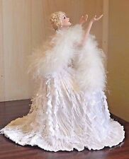REFLECTIONS OF MOONLIGHT Franklin Mint Louis Icart Style Seated Porcelain Doll