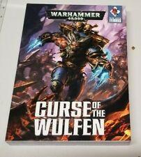 GW Warhammer 40K War Zone Fenris - Curse of the Wulfen Two Book Set HC VG+