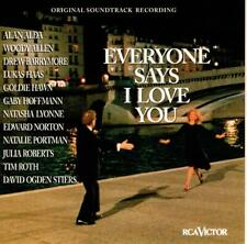 EVERYONE SAYS I LOVE YOU Soundtrack CD - Dick Hyman Ed Norton Woody Allen +++