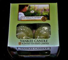Yankee Candle  TEELICHTER, A CHILDS WISH 12 Stck., Sehr Selten