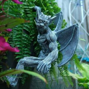 Art Sculpture Exquisite Anti-deform Vivid Gargoyle Garden Hanging Statue