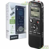 Sony 4GB PX Series High-Quality MP3 Digital Dictaphone Voice IC Recorder & USB