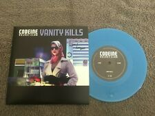 "Codeine Velvet Club-Vanity kills.7"" blue vinyl signed"