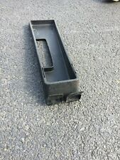 Opel Gt Center Console Insert, Used, Black, Minimal Damage