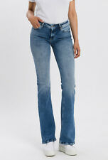 Extralange Jeans Schlaghose Überlänge Längen 36 & 38 inch für große Frauen