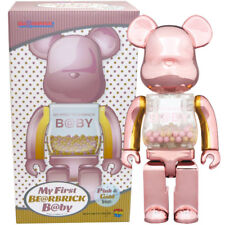 Medicom Toy Bearbrick Baby My First Be@rbrick B@by 400% [Pink & Gold Ver.]