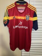 MLS Real Salt Lake Adizero Jersey Size XL Player Issued EUC