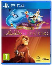 DISNEY CLASSIC GAMES: ALADDIN E IL RE LEONE PS4 VIDEOGIOCO PLAY STATION 4 NUOVO