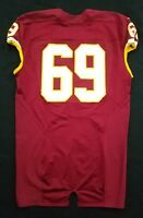 #69 of Washington Redskins NFL Locker Room Game Issued Worn No Nameplate Jersey