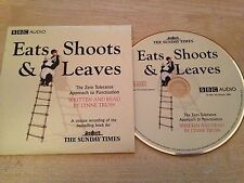 BBC EATS SHOOTS & LEAVES Zero Tolerance Approach To Punctuation Audio Book CD