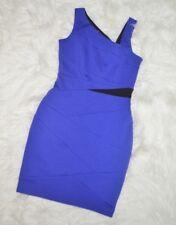NWT Seamline Cynthia Steffe, Bodycon Maxi Royal Purple Dress size 6