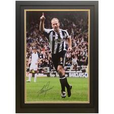 More details for newcastle united fc shearer signed framed print