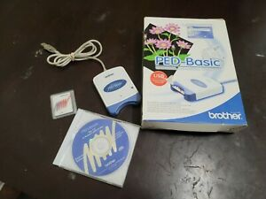 Brother PED-Basic without Instruction book