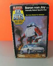 Super Go Bots Baron Von Joy Friendly Robot Sports Car In Box Porsche 911