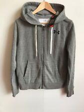 Under Armour UA Women's Favourite Fleece FZ Hoodie - Small (10) - Grey - New