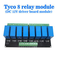 (US) OEG 8-Channel Relay Module Eight Panels Driver Boards DC 12V NPN