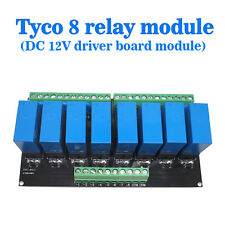 (USA) OEG 8-Channel Relay Module Eight Panels Driver Boards DC 12V NPN