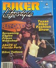 BIKER LIFESTYLE motorcycle magazine May 1984