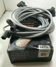 MSW 1273 Spark Plug Wire Set 8mm Ignition Wire Set Replaces Denso 671-8016