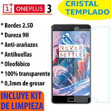 CRISTAL TEMPLADO PROTECTOR DE PANTALLA 0.3MM PARA ONEPLUS 3 / 3T 9H PREMIUM 2.5D