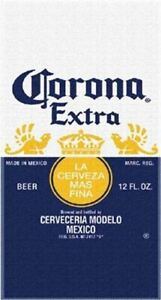 "30""x60"" Corona Label Licensed Beach Towel"