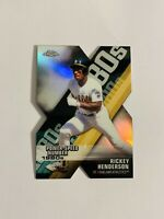 2020 Topps Chrome Rickey Henderson Decade of Dominance Die-Cut Refractor