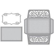 Spellbinders Designer Series Die ~ CARD, ENVELOPE, AND LINER SET~ S6-080 ~ Becca