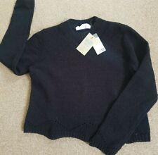 Ladies Black Crop Jumper Size M. BNWT. ♡