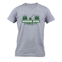 Morningwood Lumber Co T Shirt Funny Offensive Morning Wood Men's T-shirt Tee