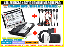 Valise de Diagnostique Auto Obd2 + CF-19 Toughbook Windows diagnostic