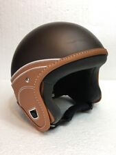Laura Smith Helmets, Trendy - XS - Scooter - Open Face, Leather Trimmed