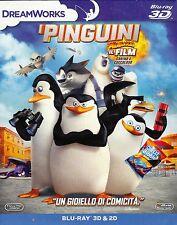 Blu-ray 3D + Blu-ray 2D «I PINGUINI DI MADAGASCAR ♥ IL FILM CARINO E COCCOLOSO»