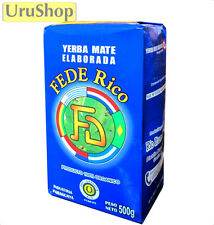 Y204 ORGANIC YERBA MATE FEDERICO HERBAL TEA SUITABLE FOR HOT MATE OR COLD TERERÉ