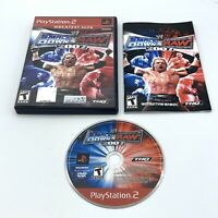 WWE SmackDown vs. Raw 2007 (Sony PlayStation 2, 2006) Complete With Manual CIB