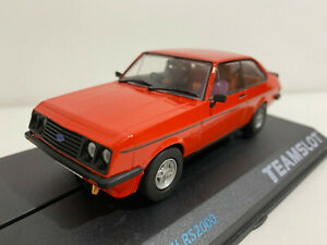 """TEAM SLOT 12701 Ford Escort MKII RS2000 """"Red"""" 1/32  #NEW#"""