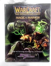WarCraft The Role-Playing Game Magic & Mayhem by Sword and Sorcery New